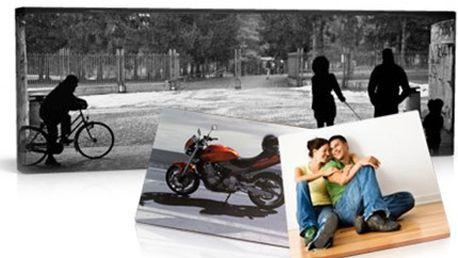 Ozvláštněte svůj interiér snadno. Kupte si fotoplátno. 57% sleva na fotoobraz 60x40cm z Vaší fotky tištěný na kvalitní pláto včetně poštovného + za příplatek provedení POP-ART. Novinka na trhu.