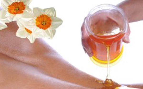 219,- Kč za medovou masáž! Jemná, relaxační masáž pro každou generaci! Sleva 51 %!