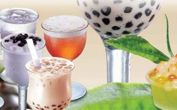 Exotické nápoje Bubble tea k odnesení s sebou vhodnotě 150 Kč. Až ČTYŘI teplé nápoje zTaiwanu skuličkami manioku a extra velkým brčkem.