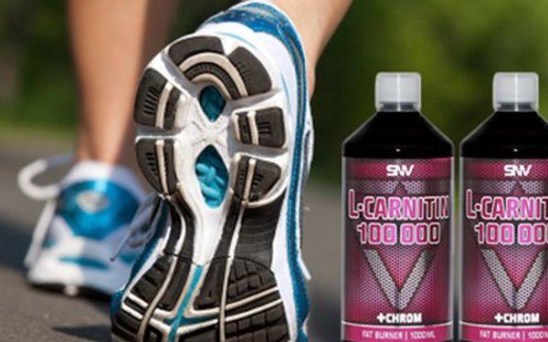 Jak získat rychlé spalování? L-Carnitin je pro Vás ideální. 2 balení L-Carnitin 100 000 s chromem, doplněk stravy pro rychlejší spalování tuků, potlačuje únavu a zvyšuje fyzický výkon.