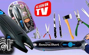 Skvělá novinka - Samurai Shark - profesionální brousič nožů, nůžek, nářadí a všeho dalšího! Ostré nože během několika málo minut - nyní to je skutečnost!