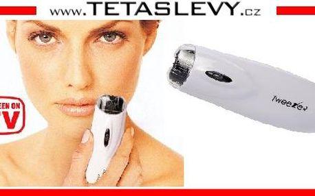 Skvělý elektronický depilátor tweeze pro odstranění ošklivých chloupku na obličeji za cenu 150kč včetně poštovného