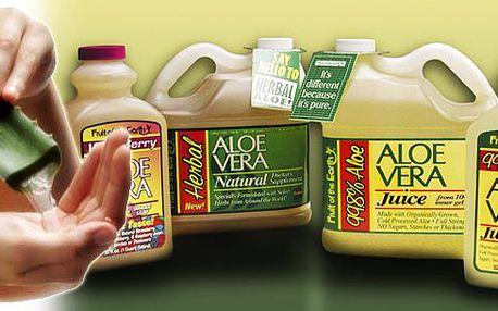 2 litry jedinečné přírodní a léčivé aloe vera šťávy za neuvěřitelných 496 kč! Poznejte sílu elixíru dlohouvěkosti za fantastickou cenu!