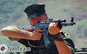 Střelba ze 7 profesionálních zbraní s celkem 60 náboji jen za 1111 Kč! Skutečný kanón Desert EAGLE 50 a odstřelovací puška Dragunov! Unikátní adrenalinový zážitek!