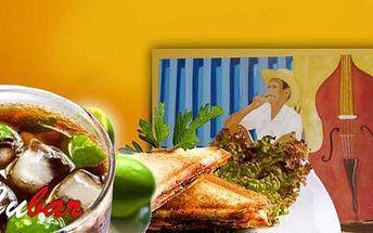 Zlejte se MAXI po Kubánsku! MAXI kýbl (10 drinků) + toastový talíř v baru v kubánském stylu za fantastických 489 Kč! Nabídka obsahuje MAXI Cuba libre nebo MAXI Sex on the beach + talíř MAXI toastů (4 porce)! Lákavá sleva 51% ! =)
