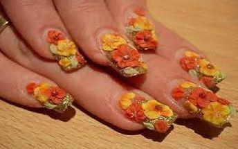 Sleva 69% na 3D gelovou modeláž nehtů. Zkrášlete své nehty a zůstaňte krásná. Nové gelové nehty, francouzská pedikúra a modeláž nehtů jen za 290,- Kč.