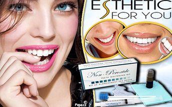Bělení zubů převratnou metodou SmileBrilliant rozzáří váš úsměv – ošetření bělící tužkou BEZ PEROXIDU. Neinvazivní metoda a bez dlouhotrvající citlivosti zubů trvá jen 20 minut až 30 minut a výsledek je patrný IHNED! Se zářivým úsměvem budete vypadat reprezentativně, zdravě a krásně.