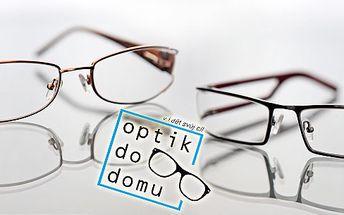 slevový kupon za 199kč na odběr 1+1 dioptrických brýlí Zdarma