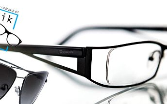 kupón za 199 Kč ! S tímto kupónem máte možnost uplatnit slevu 60% na obrubu a dioptrické čočky nebo 50% na sluneční brýle! Skvělá možnost si udělat radost za dostupnou cenu!