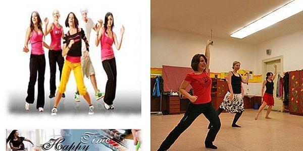 PRAHA - 59 Kč za hodinu ZUMBY. Kolumbijský tanec s kroky salsy, merengue, cumbie, reggaetonu a dalších. Zumba se slevou 50 %!