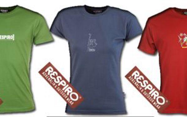 Bavlněná trička Respiro, dámská i pánská, různé barvy, velikosti a motivy! 2 ks za 199 Kč! Osobní odběr Ostrava