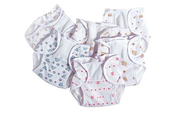 Pohodlné a praktické kojenecké kalhotky na bavlněné pleny. Pro zodpovědný přístup.