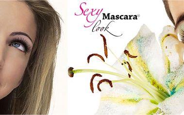 Novinka roku 2012! Semi - permanentní řasenka Sexy Look mascara! Dodává barvu. Modeluje řasy. Odděluje řasy. Zvětšuje objem řas. Prodlužuje délku řas. Namalované řasy po dobu až 3 týdnů!