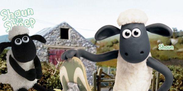 Heboučká plyšová ovečka shaun se zvukem