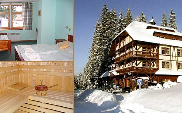 Pobyt na 6 dní pro rodiny s dětmi na Šumavě v hotelu Modrava s plnou penzí a whirlpoolem za 3800 Kč. Cena zahrnuje ubytování v hotelu Modrava na 5 nocí od 11. do 16. března 2012 pro 1 osobu a 1 dítě do 8 let s plnou penzí a koupelí ve whirlpoolu.