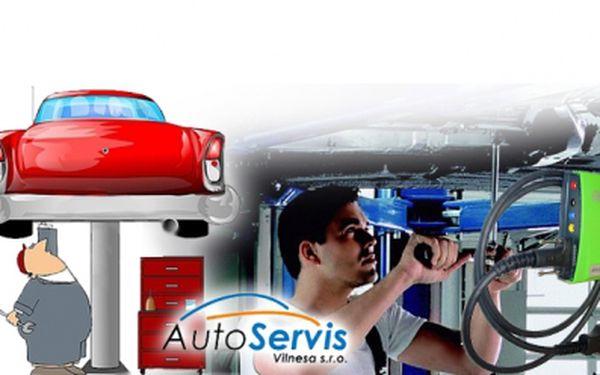 Kompletní prohlídka vozu včetně připojení na diagnostiku za šokující cenu 99 Kč místo původních 850 Kč! Neváhejte a nechte si zkontrolovat Váš vůz!