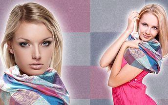 STYLOVÝ MÓDNÍ DOPLNĚK – krásná pašmína Patchwork za 199 Kč! Lehký, extra pohodlný a měkký šátek, který zkrášlí každou ženu. VYBERTE SI TU VAŠI nejoblíbenější barevnou variaci a BUĎTE KRÁSNÁ v každém ročním období!