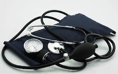 Komplet pro měření tlaku - mějte své zdraví vždy pod dohledem! Poštovné zdarma!