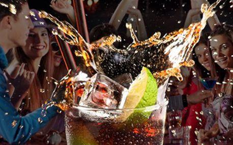 Dejte si 2x CUBA LIBRE! Spojení bílého rumu, limety a coly Vás dostane. 50% sleva na 2 drinky CUBA LIBRE. Osvěžte se skvělým drinkem!