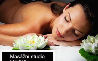 Balíček masáží pro skvělý pocit. 90 minut blahodárné masáže lávovými kameny a 45 minut očistné medové masáže se zábalem. Nádherný dárek!