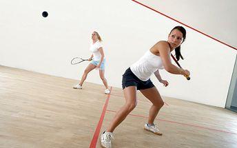 Ricochet (Malý squash) na hodinu len za 3,80 €!