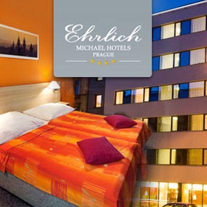 3 dny pro 2 v design hotelu Ehrlich**** Praha za 1 990 Kč. Vydejte se do luxusního hotelu v centru metrolopole a užijte si s miláčkem krásný víkend. HyperSleva 50 %.