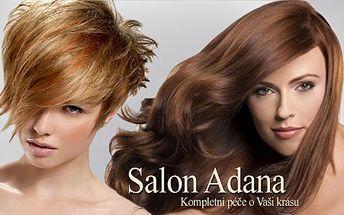 Buďte IN! Poukaz na slevu 55 % na změnu Vaší image. Vyberte si jednu ze tří služeb: prodloužení vlasů, ošetření španělským keratinem nebo dámské kadeřnictví za 39Kč.