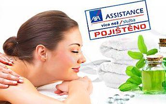 Luxusní aroma masáž zad, šíje a dolních končetin v délce 90 minut! Relaxujte a vychutnejte si masáž od profesionální masérky! Masáž je prováděna v pohodlí Vašeho domova...