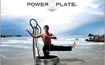 Měsíc Power Plate za 499,-