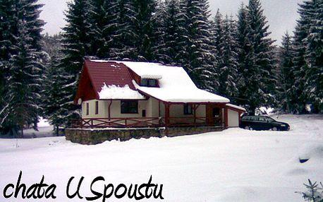 3999 Kč za pronájem celé chaty na 3 noci pro až 10 osob uprostřed Šumavy! Prožijte s přáteli nebo s rodinou dovolenou v plně vybavené chatě! Chata uprostřed panenské šumavské přírody a lyžování nedaleko.