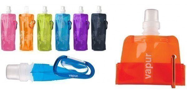 Vapur EKO skládací láhev je ideální vychytávka pro všechny sportovce, cestovatele, rybáře i všechny co sebou stále nosí pití.