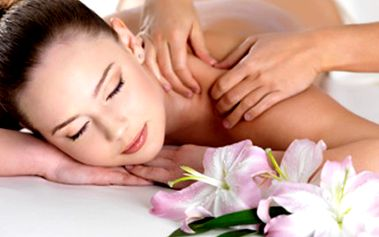 90minutová terapeutická MASÁŽ Trigger Points. Procedura zahrnuje diagnostiku těla, nahřátí rašelinovým nosičem tepla, hloubkovou terapeutickou masáž, závěrečné protažení a nahřátí ošetřených svalů.