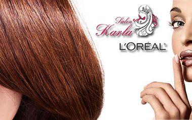 Dámské kadeřnictví - mytí, melír nebo barva, střih, foukaná a styling! Používá se vlasová kosmetika zn. L'Oréal!