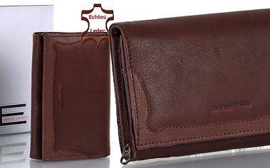 Dámská italská kožená peněženka PIERRE CARDIN s 50% slevou! kvalitní peněženka luxusní značky teď může být i Vaše za skvělou cenu!!