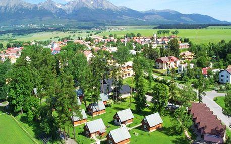 Pekné ubytovanie na 2, 3 alebo 4 noci pre 6 osôb v Chatách Tatry Holiday *** vo Veľkom Slavkove vo Vysokých Tatrách! Zažite perfektnú jarnú lyžovačku so zľavou až do 50%!