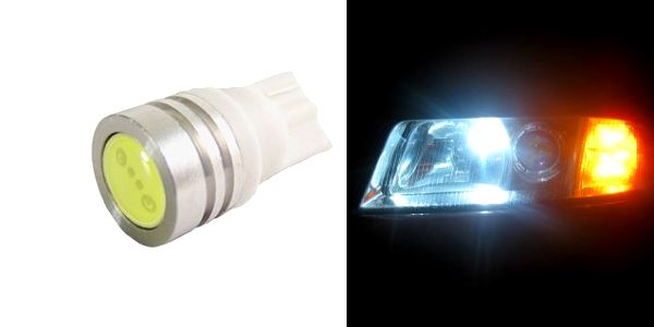 Upravte své auto s žárovkami HIGH POWER LED T10 na elegantní vzhled v bílé barvě světla o teplotě 6000K s poštovným pouze 25 Kč!