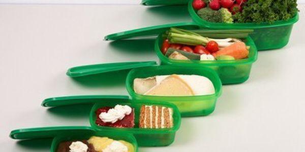 Skvělá nabídka na sadu dóz King Fresh . Udržte si své potraviny déle čerstvé! Dózy jsou ideální pro skladování potravin a leze je použít v ledničce, mrazáku i mikrovlné troubě.