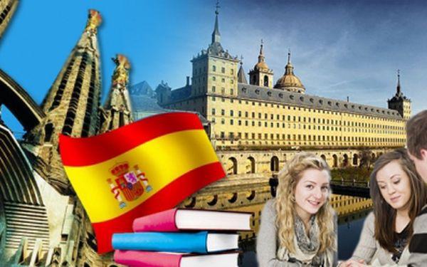 Intenzivní kurz španělštiny za pouhých 690 Kč s certifikátem o absolvování a učebním materiálem! 12 lekcí během 6 týdnů pro začátečníky i středně pokročilé. Sleva 70%!