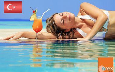 FIRST MINUTE v Turecku na 8 dní so službami All Inclusive v 5* hoteli RUBI HOTEL od CK Orex - s odletom z BA, KE a z letiska Sliač! Všetky poplatky v cene! Pre rezerváciu stačí zaplatiť zálohovú platbu len 190 €!