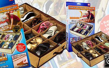Super pořadač na boty! Možnost zasunout pod postel, do skříně nebo nechat v chodbě nebo předsíni! Skvělá cena! Shoes Under Znáte z TV