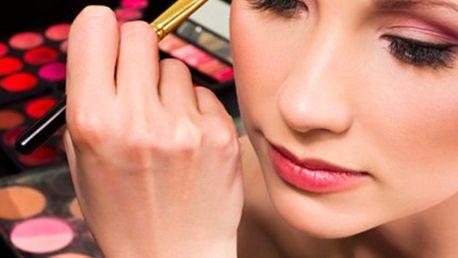 Navštivte KURZ LÍČENÍ, z výsledku budete nadšení! V kurzu se naučíte techniky líčení, základní pojmy a jak používat kosmetické přípravky i pomůcky.