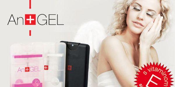 Anjelsky čisté a voňave ruky - AnGEL® okamžite odstráni 99% baktérii bez mydla, vody, uteráka, nech ste kdekoľvek