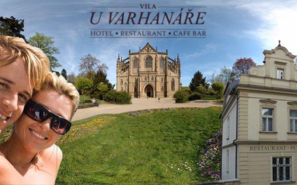Ubytování pro dva v barokní vile U Varhanáře v bezprostřední blízkosti chrámu sv. Barbory v královském městě Kutná Hora! Z pokoje panorama toho nejúchvatnějšího, co v Kutné Hoře je!