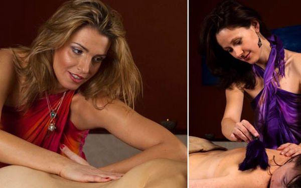 90MINUTOVÁ TANTRICKÁ MASÁŽ – jemný a smyslný rituál pro ženy i muže, který rozproudí energii a naplní tělo vzrušením a něhou. Užívejte si jemné a velmi příjemné doteky a nechte se unášet. DOKONALÉ SPOJENÍ SMYSLNOSTI A KRÁSNÉHO RELAXU za 1 980 Kč!