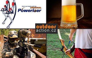 3 dny s polopenzí v Jizerkách! Lukostřelba, skákací boty, paintball, slaňování, wellness a neomezená konzumace piva!