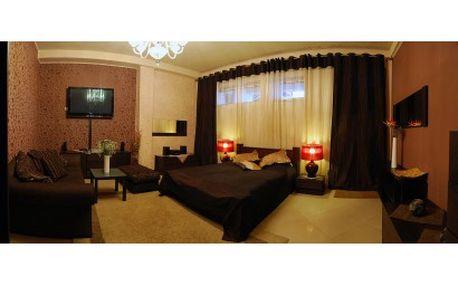 Jedinečné Luxusní a romantické 2 dny ve Svatebním Apartmá pro DVA se snídaní a saunou v Praze jen ze 1299kč