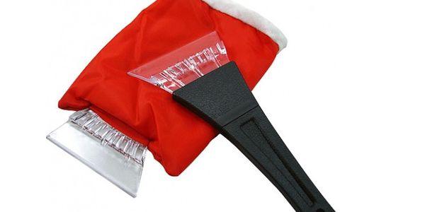 Skvělá škrabka na sklo Vašeho auta s bezva vychytávkou - rukavice, která Vás zahřeje!! Škrabka s rukavicí za 219 Kč!!