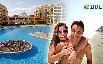 10 denní nebo 7 denní letecký zájezd do Bulharska s výběrem ze 3 ubytovacích zařízení nacházejících se u pláže! Výběr z 5 -ti termínů!