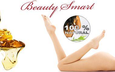 Depilace cukrovou pastou tzv. BRAZILKA na intimních partiích a tříslech! 100% přírodní depilace!