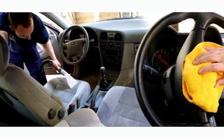 Již nikam nemusíte, přijedeme k Vám ! Dopřejte svému vozu důkladné vyčištění interiérů od profesionálů s 50% slevou.